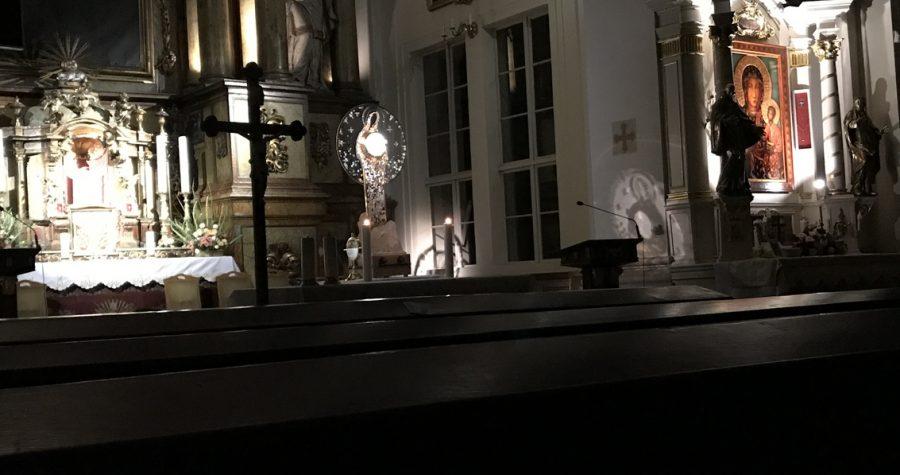 Noworoczna Adoracja u OO. Paulinów we Wrocławiu