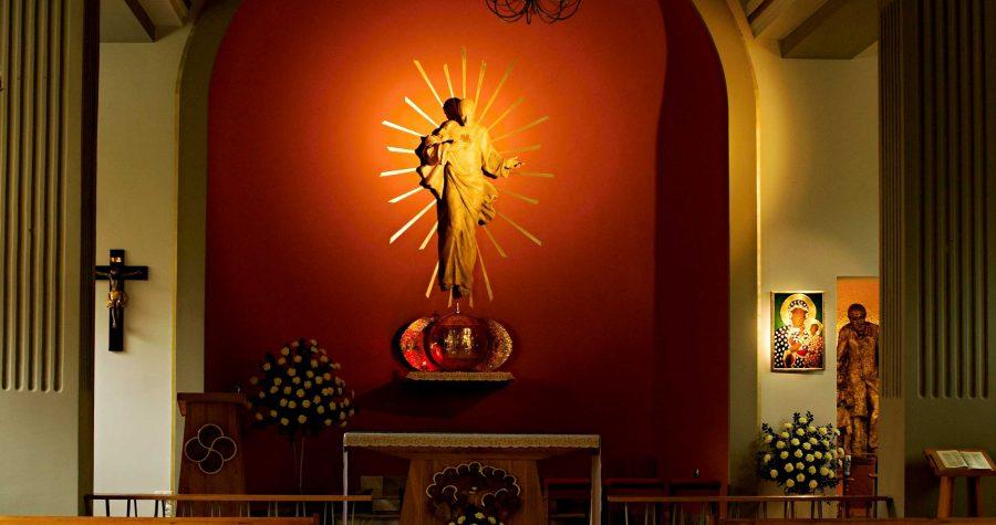 Adoracja w intencji pokoju na świecie w Sanktuarium bł. Edmunda Bojanowskiego