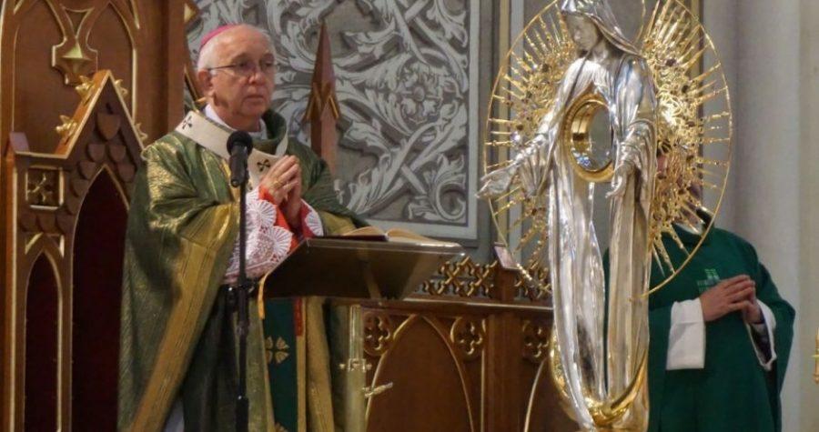 Radomska katedra Gwiazdą na Płaszczu Maryi
