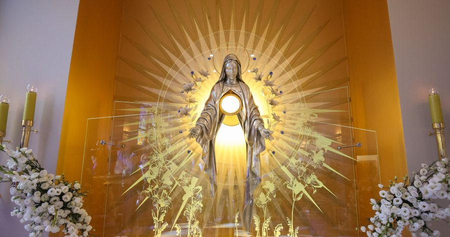 The Chapel of Perpetual Adoration in Niepokalanów is Already 3 Years Old