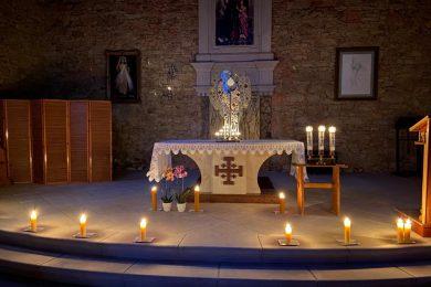 Adoracja ze św. Anną